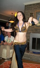 Janim performs at a house party!