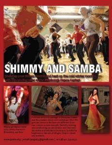Shimmy and Samba!