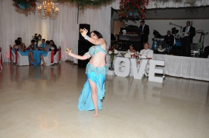 Janim dancing at a wedding 2012